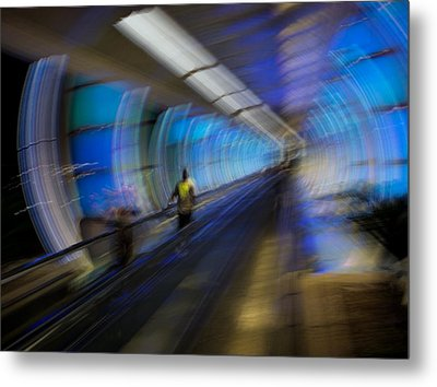 Metal Print featuring the photograph Quantum Tunneling by Alex Lapidus