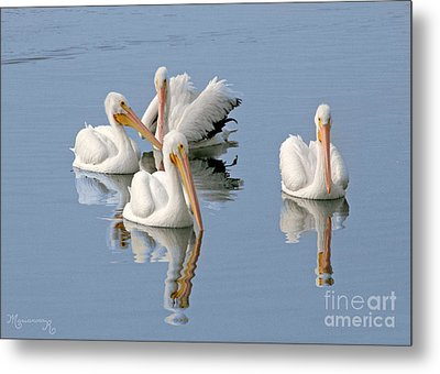 Quartet's Reflections Metal Print