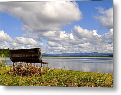 Metal Print featuring the photograph Quartz Lake by Cathy Mahnke