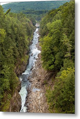 Quechee Gorge State Park Metal Print by John M Bailey