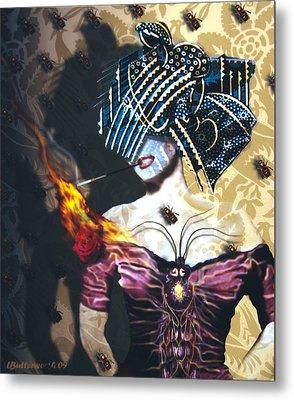 Queen Bee Metal Print by Larry Butterworth