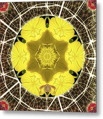 Queen Bee-nectar Of Life Metal Print