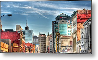 Queen City Downtown Metal Print