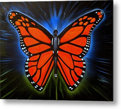 Queen Monarch Metal Print by RJ McNall