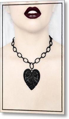 Queen Of Hearts Metal Print by Evelina Kremsdorf