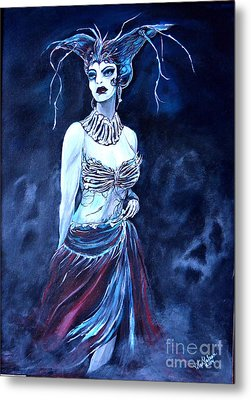 Queen Of The Dead Metal Print by Valarie Pacheco