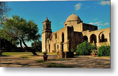 Metal Print featuring the photograph Queen Of The Missions by Gregory Israelson