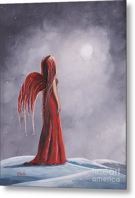 Queen Of The Winter Nights By Shawna Erback Metal Print by Shawna Erback