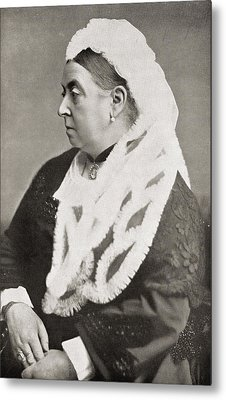 Queen Victoria Metal Print by English Photographer
