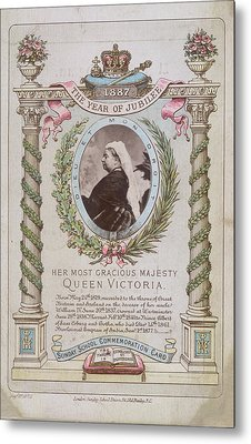 Queen Victoria Metal Print by British Library