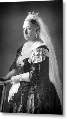 Queen Victoria Metal Print by Unknown