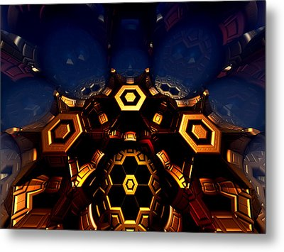 Queen's Chamber Metal Print by Jeff Iverson