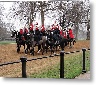 Metal Print featuring the photograph Queen's Guard by Tiffany Erdman