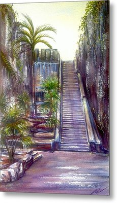 Queen's Staircase Metal Print