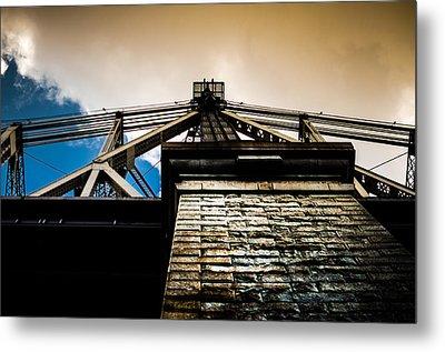 Queensboro Bridge Metal Print by Joshua Ayers