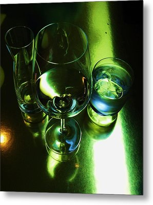 Quench Metal Print by Anna Villarreal Garbis
