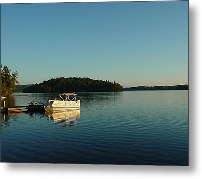 Metal Print featuring the photograph Quiet Lake by Dorothy Maier