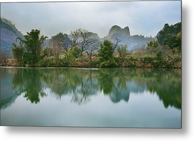 Quiet Moment 4 Metal Print by Afrison Ma