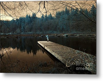 Metal Print featuring the photograph Quiet Moments  by Rebecca Parker