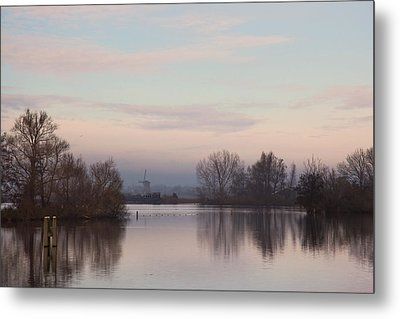Quiet Morning Metal Print by Annie Snel