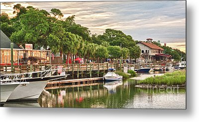 Quiet Morning At The Inlet II Metal Print