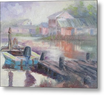Quiet Morning In East Point Metal Print by Susan Richardson