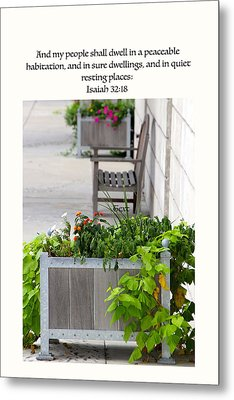 Quiet Resting Places Metal Print