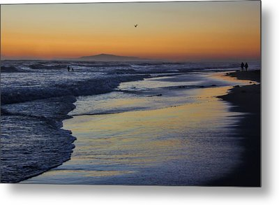Quiet Metal Print by Tammy Espino