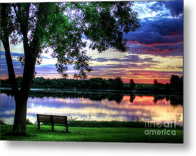 Quiet Metal Print by Thomas Danilovich