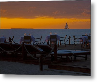 Metal Print featuring the photograph Quiet Time ... by Chuck Caramella