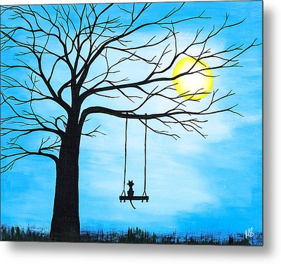 Quiet Time Metal Print