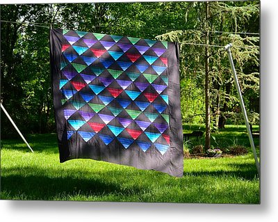 Quilt Top In The Breeze Metal Print