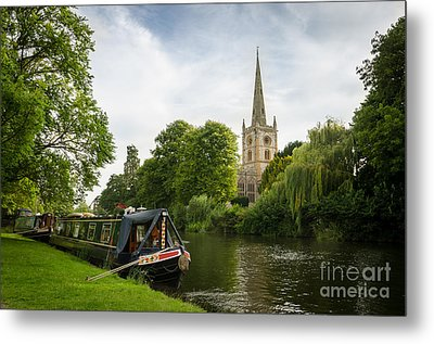 Quintessential English Countryside At Stratford-upon-avon Metal Print by OUAP Photography