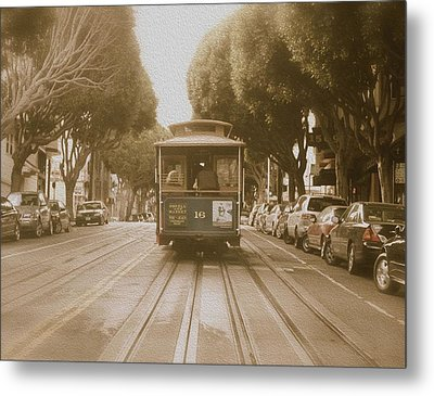 Quintessential San Francisco Metal Print