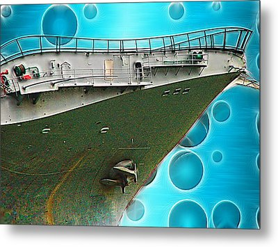 Quirky Advance Metal Print by Wendy J St Christopher
