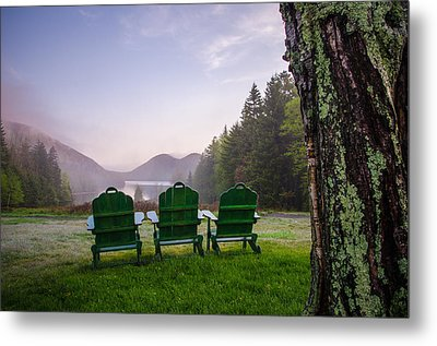 Quite A View Metal Print by Kristopher Schoenleber