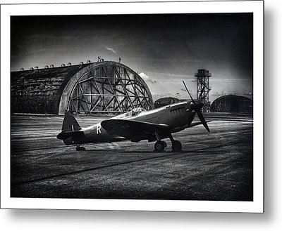 R For Ready Metal Print by Jason Green