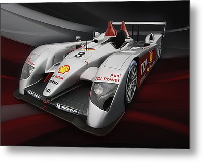 R10 Le Mans 2 Metal Print by Peter Chilelli