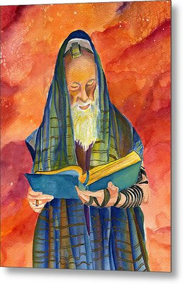 Rabbi I Metal Print
