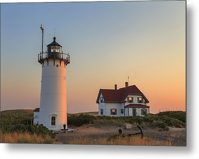 Race Point Lighthouse Metal Print by Bill Wakeley