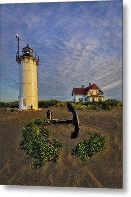 Race Point Lighthouse Metal Print by Susan Candelario