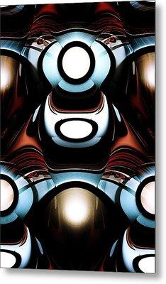 Racer Metal Print by Anastasiya Malakhova