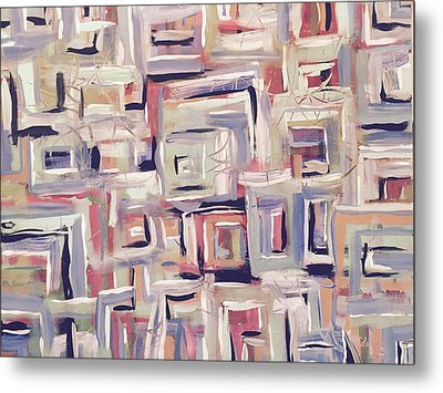Racing Thoughts - Highs And Lows Metal Print by Edward Paul