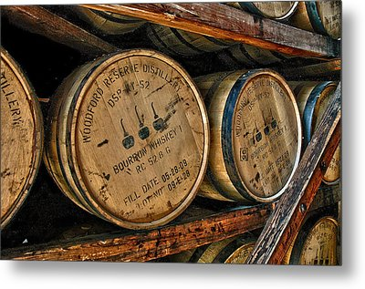 Rack House Woodford Reserve Metal Print by Allen Carroll