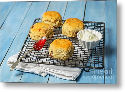 Rack Of Scones Metal Print