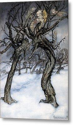 Rackham: Whisper Trees Metal Print by Granger