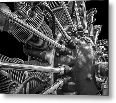 Radial Aircraft Engine Metal Print