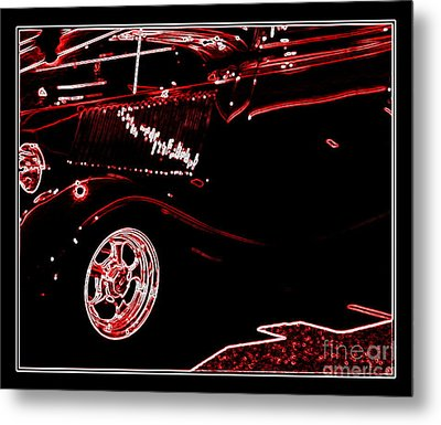 Metal Print featuring the digital art Radiance by Bobbee Rickard
