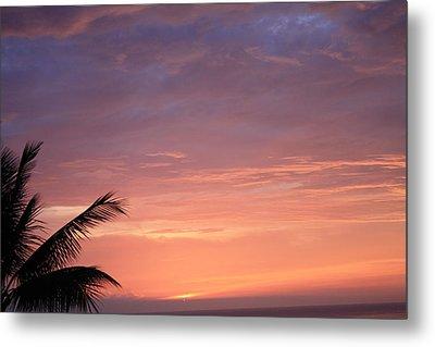 Radiant Sunset Metal Print by Karen Nicholson