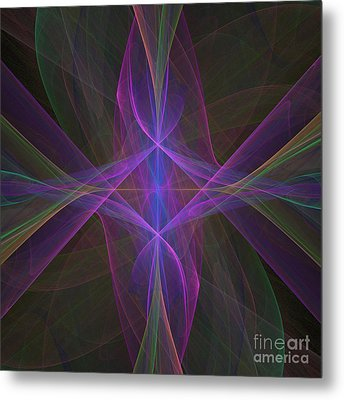 Radiant Veils Metal Print by Ursula Freer